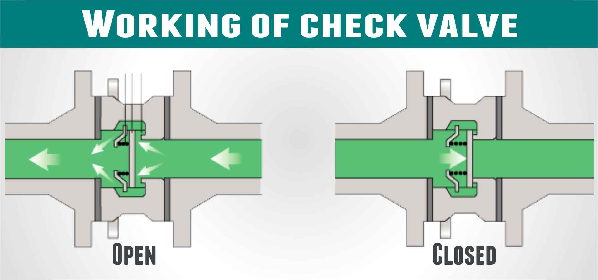 How Does A Sanitary Check Valve Work