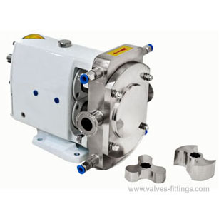 AV-18 AVZ Sanitary Rotary Lobe Pumps