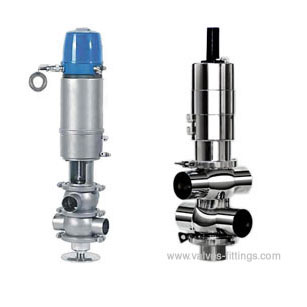 AV-5DS Sanitary Double Seat Mix Proof Valves