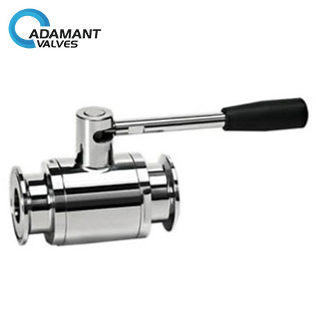 Sanitary Tri-clamp Ball Valves with Full Port Ends, Manual Type
