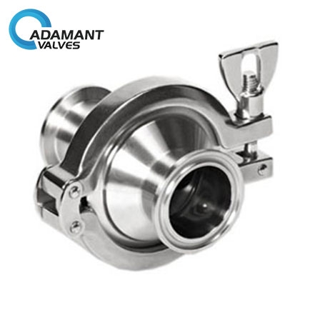 Sanitary Check Valve with Tri-clamp Ends
