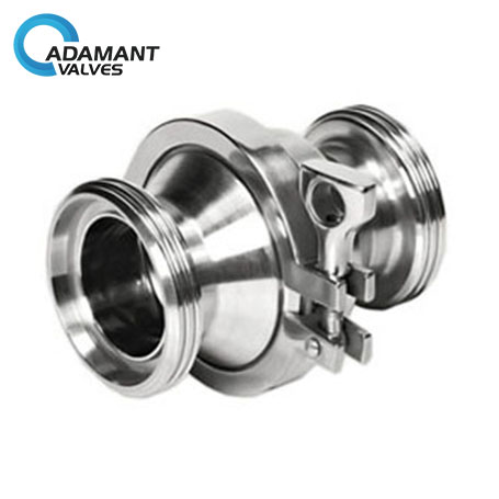 Sanitary Check Valve with Thread Ends