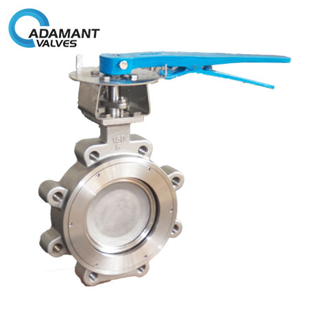 AV-1HLL-316 Lugged High Performance Butterfly Valves, 316 Body, Lever Operator
