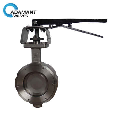 Wafer High Performance Butterfly Valves, 316 Body, Lever Operator