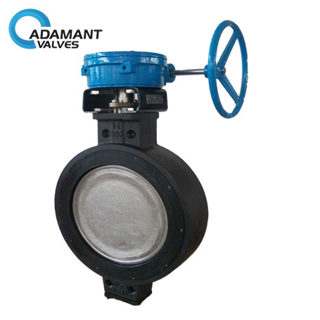 AV-1HWW-WCB Wafer High Performance Butterfly Valves, Carbon Steel (WCB) Body, Worm Gear Operator