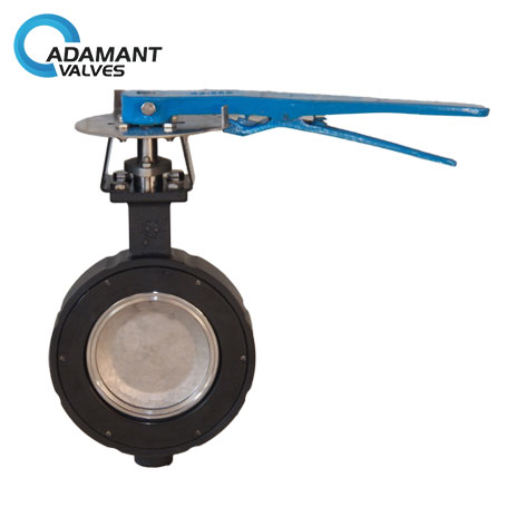 Wafer High Performance Butterfly Valves, Carbon Steel (WCB) Body, Lever Operator