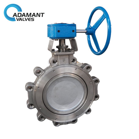 AV-1HLW-316 Lugged High Performance Butterfly Valves, 316 Body, Worm Gear Operator