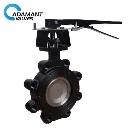 AV-1HLL-WCB Lugged High Performance Butterfly Valves, Carbon Steel (WCB) Body, Lever Operator
