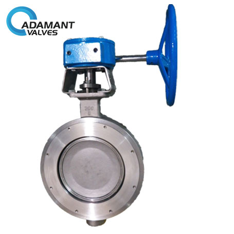 AV-1HWW-316 Wafer High Performance Butterfly Valves, 316 Body, Worm Gear Operator