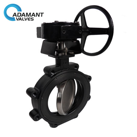 AV-1HLW-WCB Lugged High Performance Butterfly Valves, Carbon Steel (WCB) Body, Worm Gear Operator