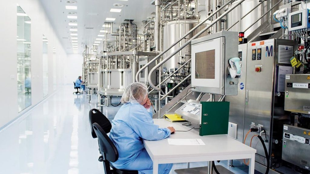 biopharmaceutical industry