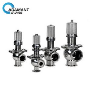 Sanitary Air Pressure Relief Valves