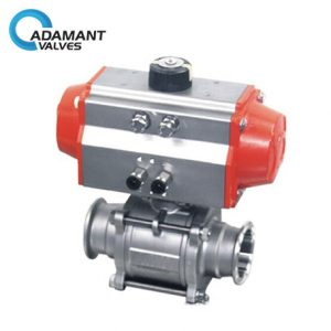 features of sanitary electric ball valves made of stainless steel ball valve