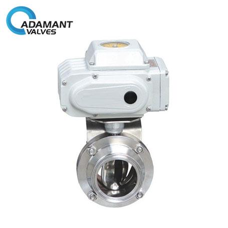 sanitary balancing valves