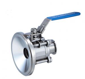 Manual tank bottom ball valve