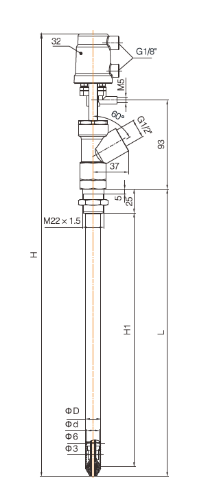 sanitary filling valve