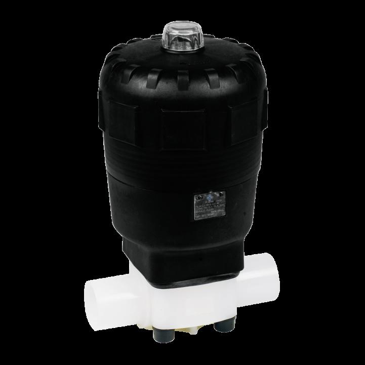 plastic pneumatic actuator