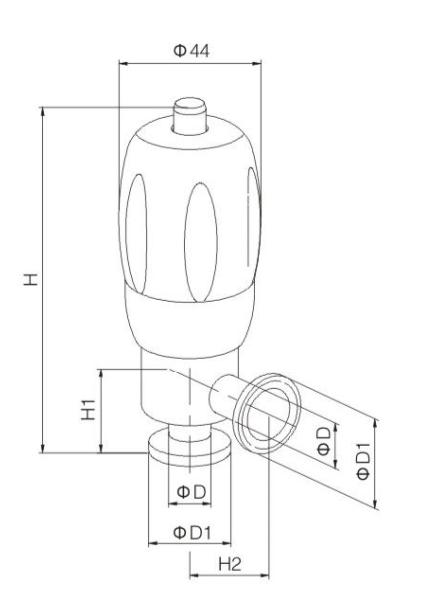 Mini safety valve