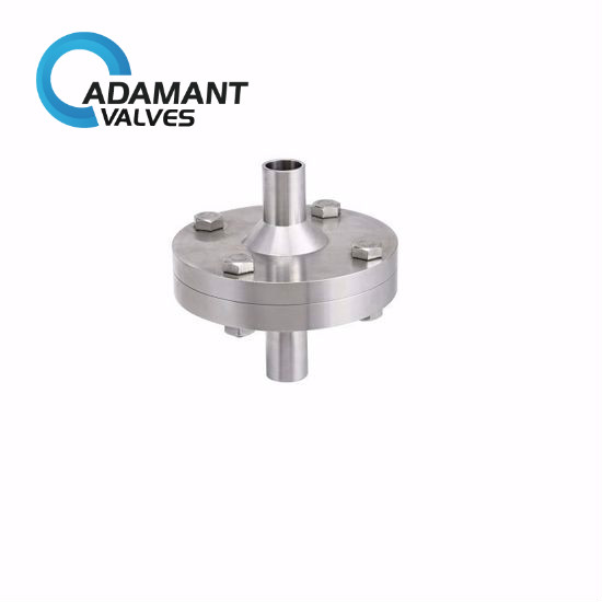 sanitary flange connected check valves