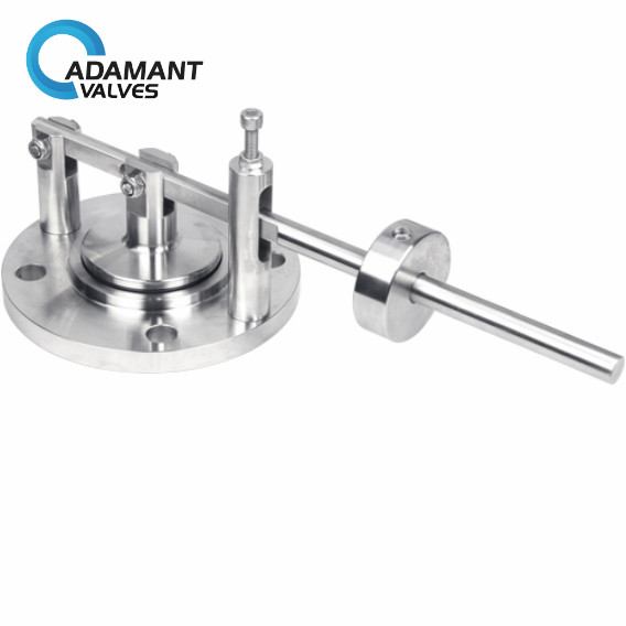 sanitary manual air relief valve