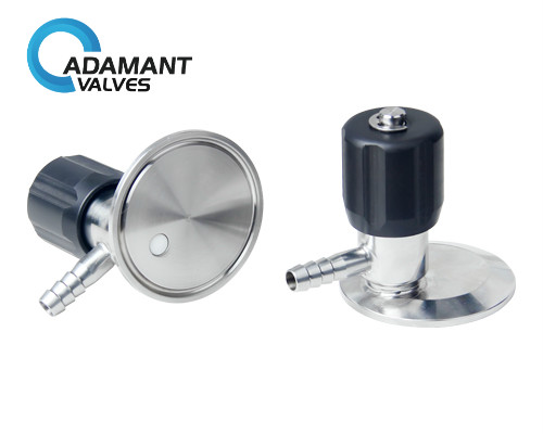Sanitary No Retention Sampling Valve