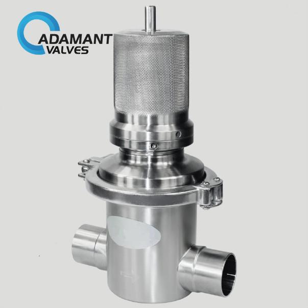 sanitary s type pressure reducing valve
