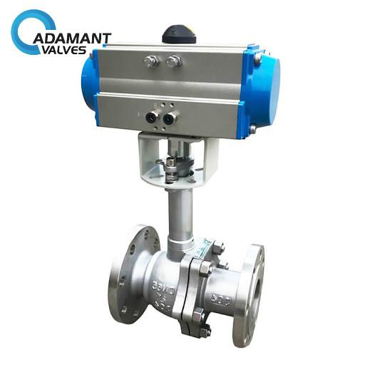 high performance cryogenic ball valve