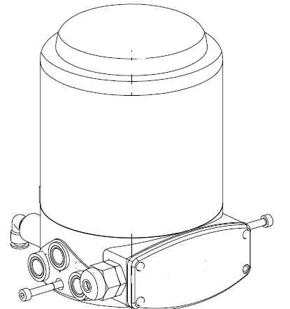 Sanitary 2-way Pneumatic Divert Seat Valve with Tri-Clamp End-3